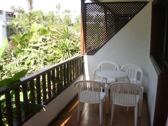 Hacienda Del Sol: balcony