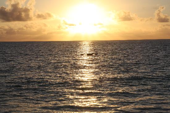 Blue Oyster Hotel: Sonnenaufgang