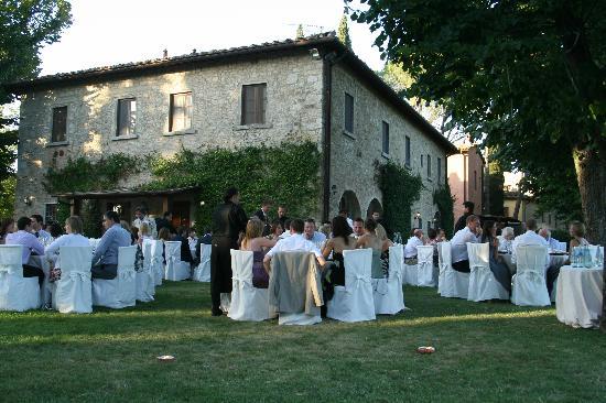 Agriturismo Fonte de' Medici: wedding meal