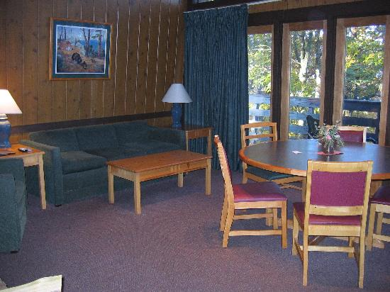 Lake Guntersville State Park Lodge: Living Area