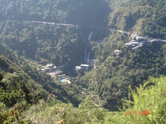 Kempty Falls: Kempty Fall from above
