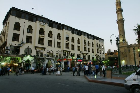 El Hussein Hotel: Front of the Hotel