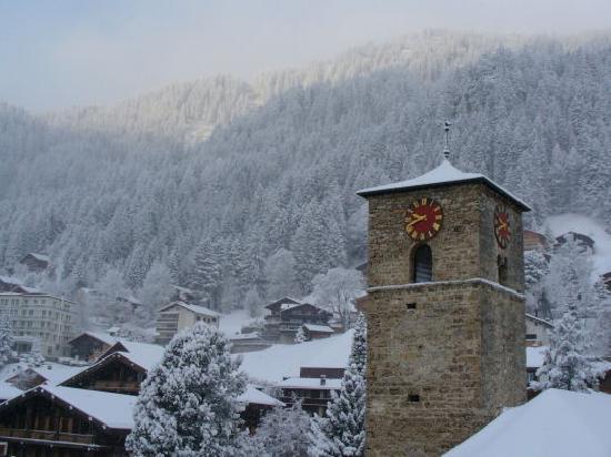 Adler Adelboden : Vue sur le village
