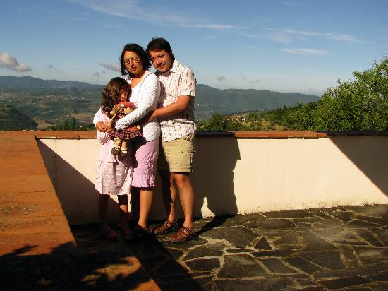 Podere Castellare - Eco Resort of Tuscany: Happy family