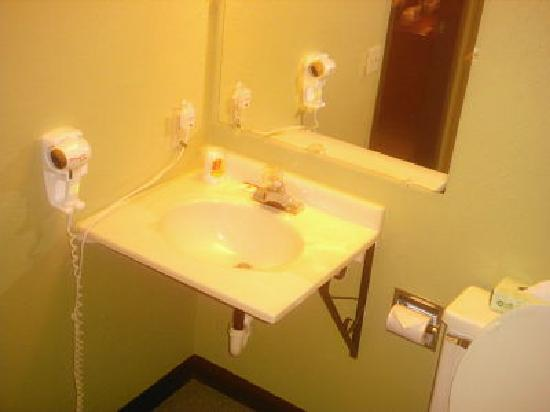 Super 8 Ithaca: Bathroom