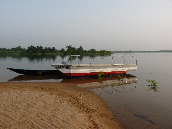 Ada, Γκάνα: Volta River from the guest house
