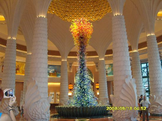 Atlantis, The Palm: Impressive Lobby Feature