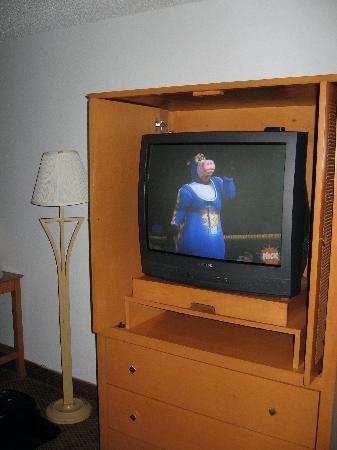 Days Inn Lakewood South Tacoma: TV