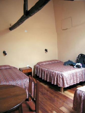 Hostal Mallqui : my room