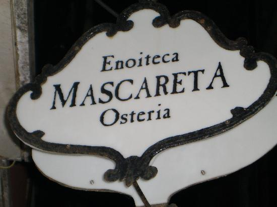 Enoiteca Mascareta: La Mascareta - Sign