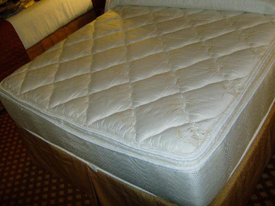 Holiday Inn San Antonio Downtown Market Square: Comfortable no-name mattress is a pillowtop.