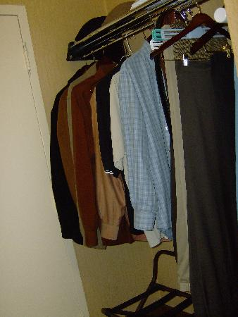 Holiday Inn San Antonio Downtown: No closet but this cubby has lots of room.