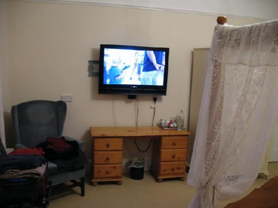 Canterbury Lodge: TV in Room 7