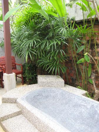 Lanta Sand Resort and Spa: Terrasse