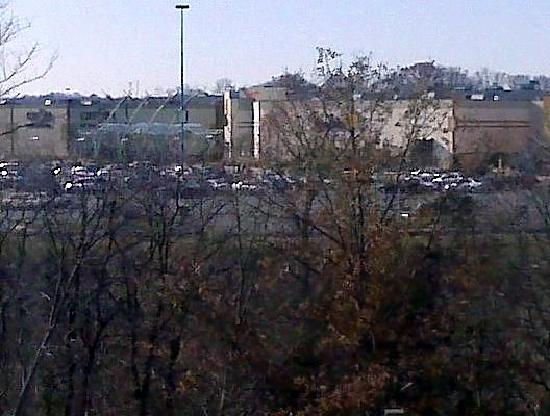 TownePlace Suites Arundel Mills BWI Airport: front window view of Outlet Mall