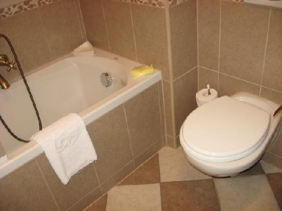 Queen's Court Hotel & Residence : bathroom