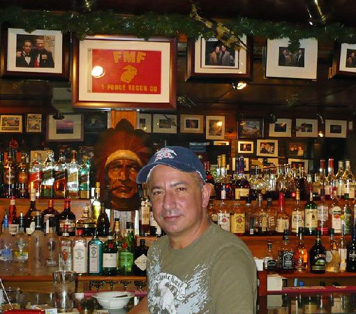 Florio's Pizzeria and Restaurant : Ed at Florio's
