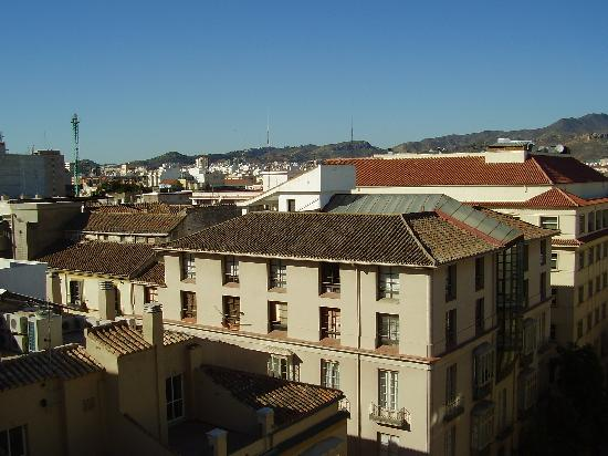 Hotel Alameda Malaga: View from room 8