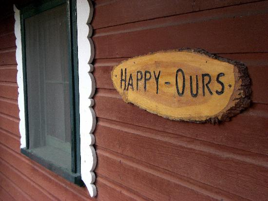 Trout Haven Ranch Lodge: Happy Ours