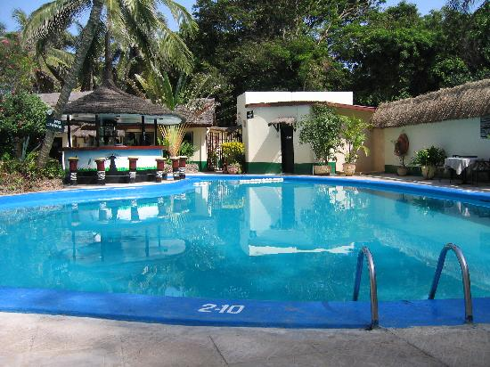 Bakau, Gambia: The Pool Area