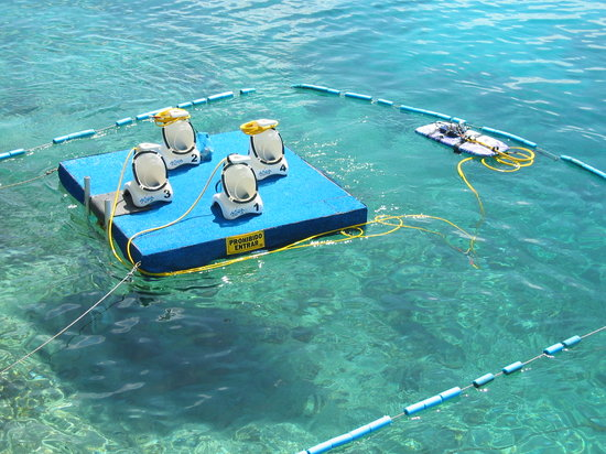 Aquanautas: Aqua Nautas system in San Andres Islands