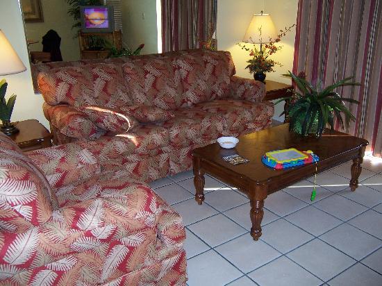 Fantasy World Club Villas: living room