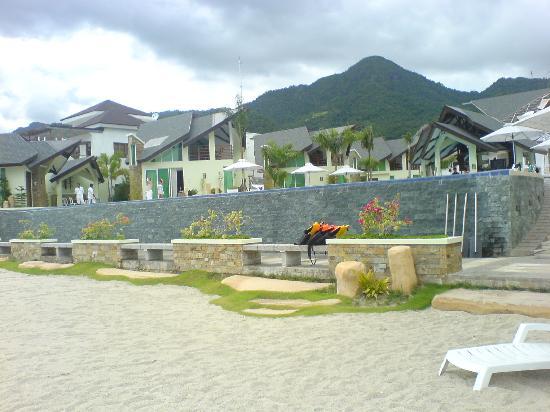 Facade Picture Of Acuatico Beach Resort Hotel Laiya TripAdvisor - Acuatico beach resort map