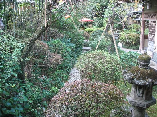 Hotel Senkei: View of the garden at Yamagaso
