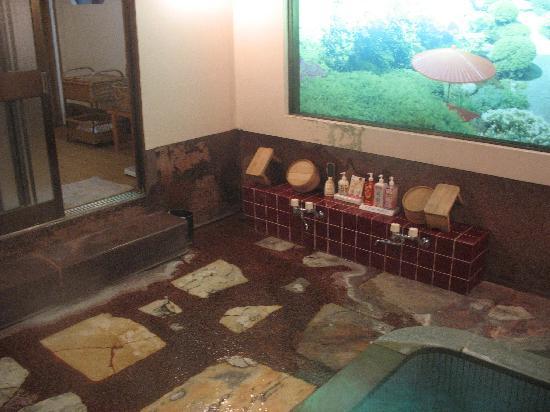 Hotel Senkei: 'Kashikiriburo' bath at Yamagaso