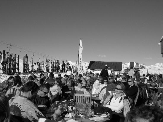Club Med Aime la Plagne: Lunch in the sun