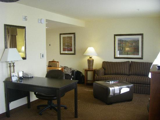 Homewood Suites by Hilton Fairfield - Napa Valley Area : Chambre