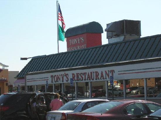 Tony's I-75 Restaurant: Tony's Restaurant Sign and Awning