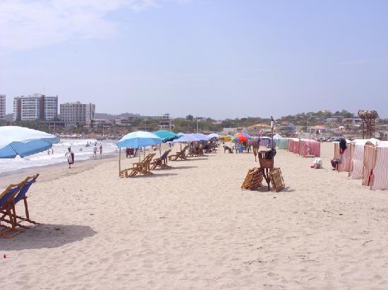 General Villamil Beach: un cielo azul
