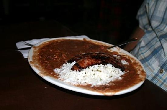 Rivershack Tavern: Red beans and rice!