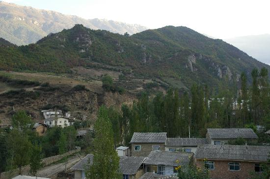 Gorgan, Iran: View from the hotel