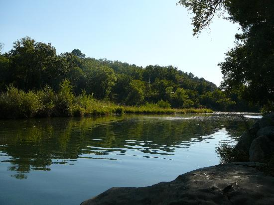 Greoux les Bains, França: Verdon river, Greoux-les-Bains