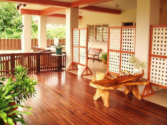 Aito Apartments Muri: The balcony