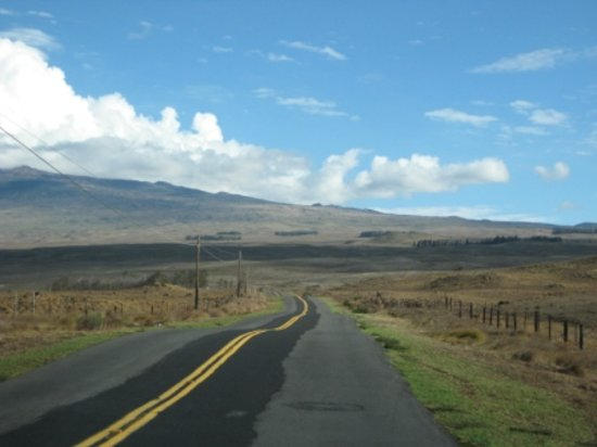 Kailua-Kona, HI: some parts of saddle road were a little rough