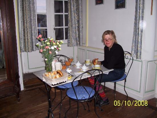 La Maison du Notaire Royal : breakfast!