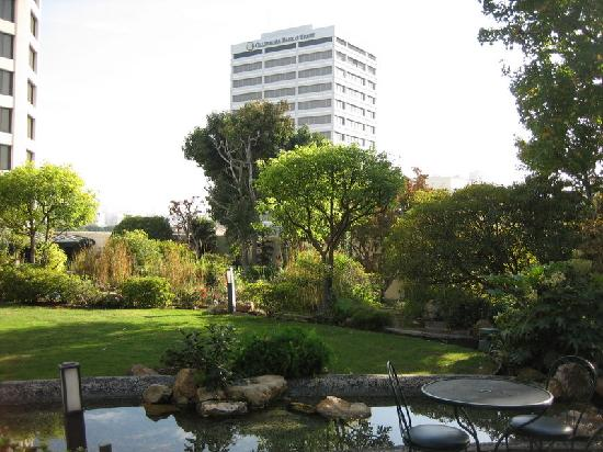 Japanese Garden Picture Of Doubletree By Hilton Hotel Los Angeles Downtown Los Angeles