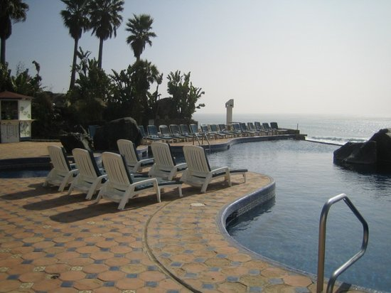 Rosarito, Meksyk: pool area
