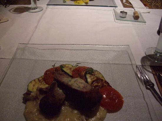 St Michael Cheese Restaurant : piglet main course
