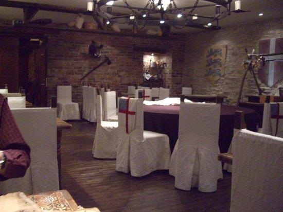 St Michael Cheese Restaurant: the restaurant