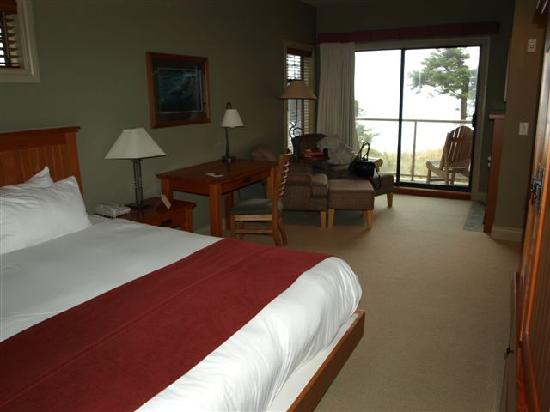 Long Beach Lodge Resort: Oceanview Room