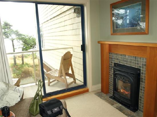 Long Beach Lodge Resort: Oceanview Room