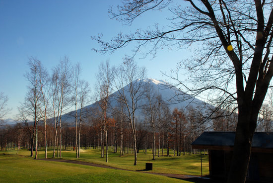 Niseko-cho, Japan: The golf course
