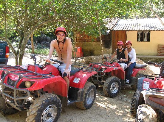 Vallarta Discovery Day Tours : ATV Jungle Adventure