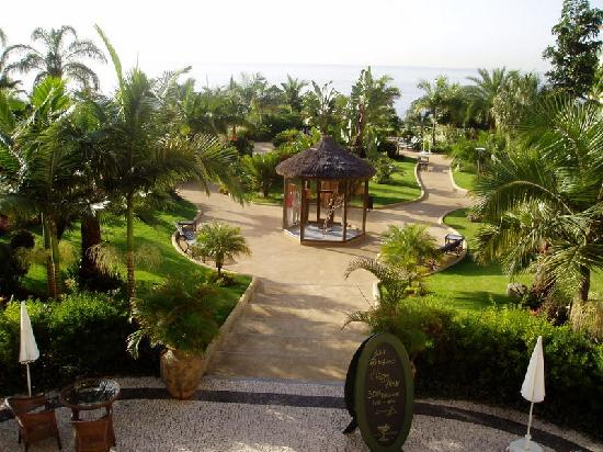 The Residence: hotel grounds