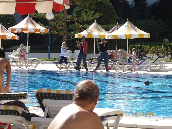 Dancing Round The Pool Picture Of Hotel Riviera Port El Kantaoui Tripadvisor