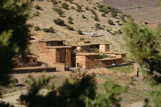 Ecolodge Dar Itrane: Vue générale du Lodge